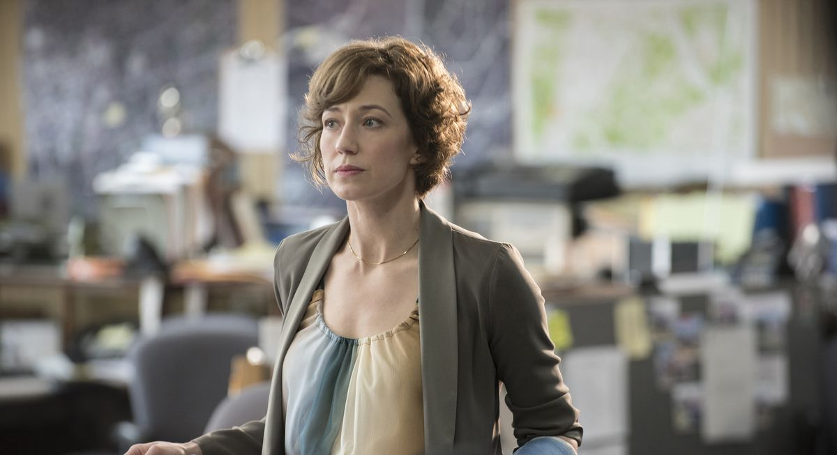 """Carrie Coon stars as Nora on the HBO series """"The Leftovers.""""   HBO"""