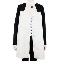 """Swinton Color Block Coat, <a href=""""http://www.dalaganyc.com/collections/coats/products/swinton-color-block-coat"""">$135</a> at Dalaga"""