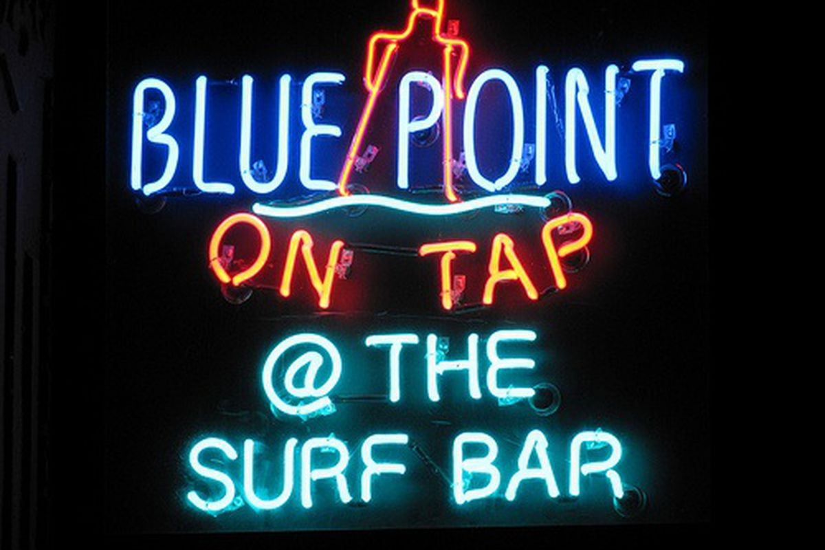 Neon Signage at The Surf Bar