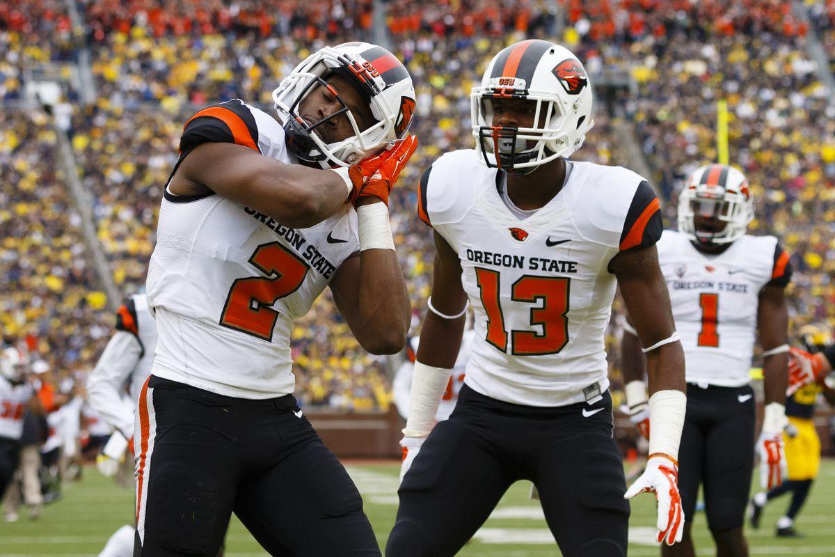 NCAA Football: Oregon State at Michigan