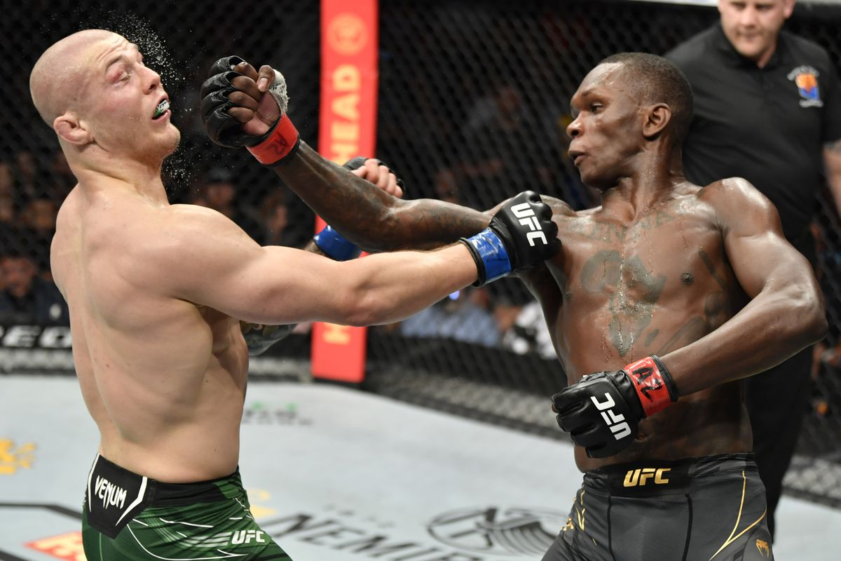 Israel Adesanya dominates Marvin Vettori for five rounds to win lopsided decision in UFC 263 main event - MMA Fighting