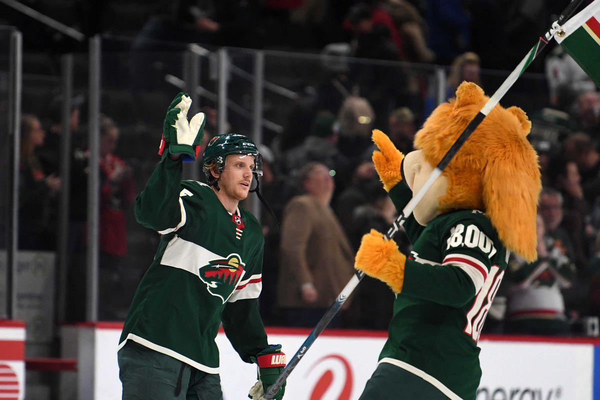 NHL: Vegas Golden Knights at Minnesota Wild
