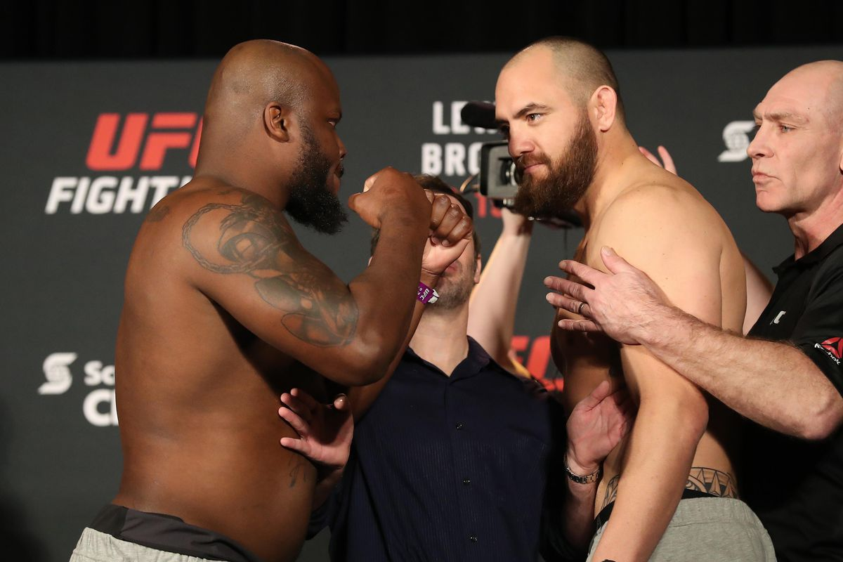 MMA: UFC Fight Night-Lewis vs Browne-Weigh Ins