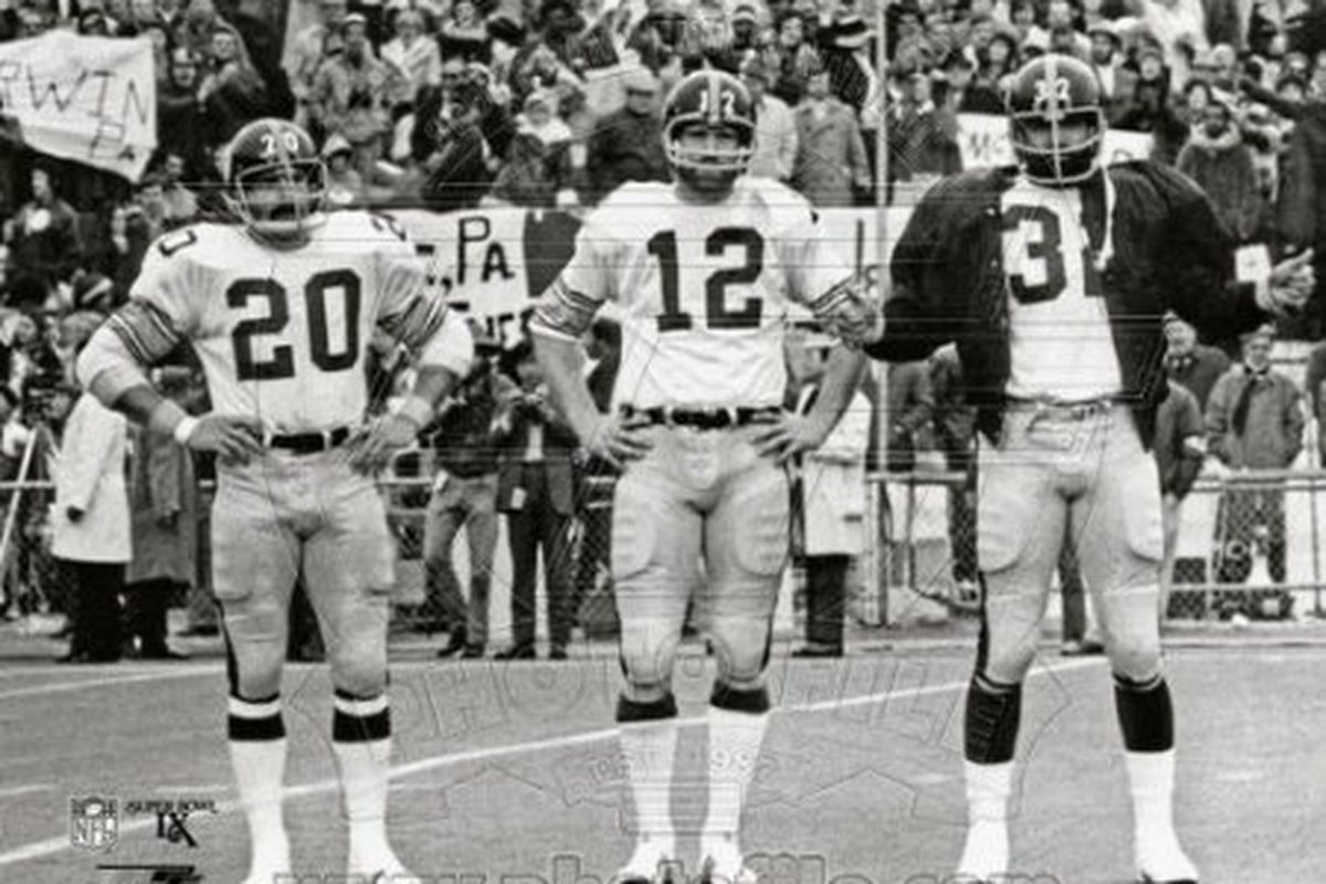 7b1d65c315c Steelers Heroes of the Past: Terry, Franco and The Rock - Behind the ...