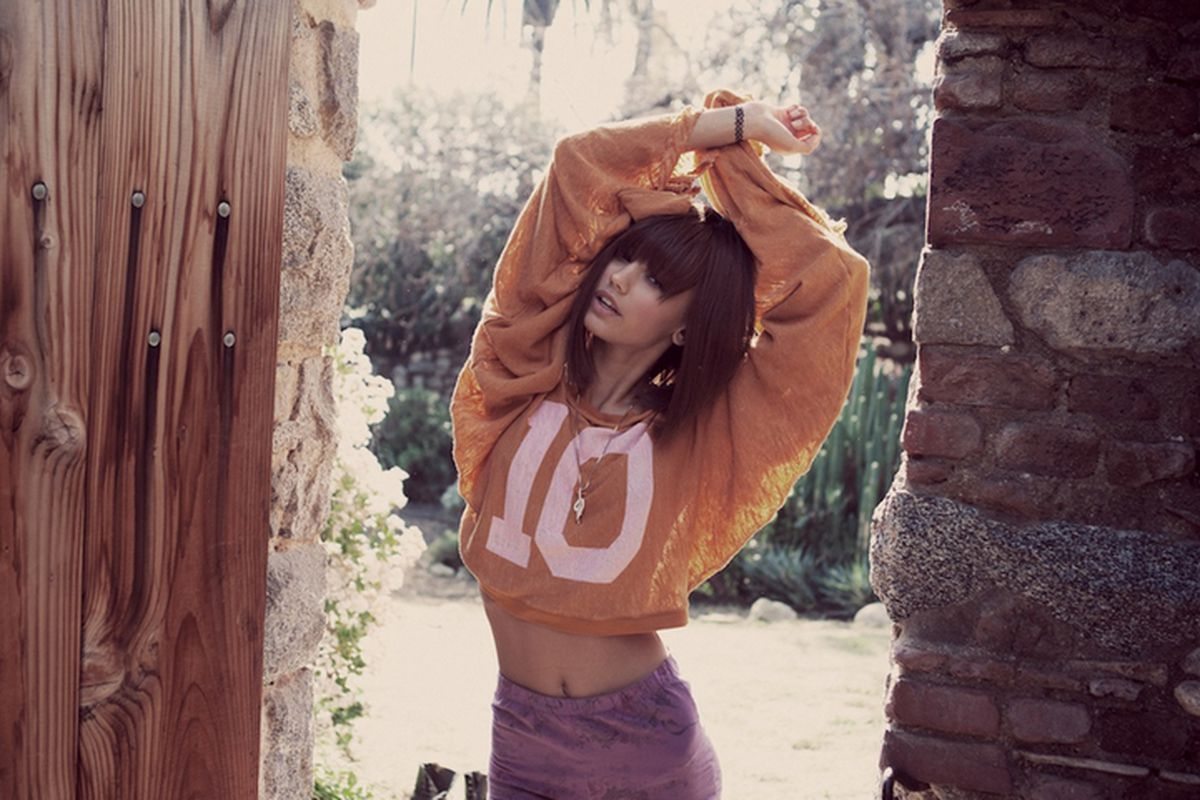 A look from Wildfox's Spring 2012 Lookbook.