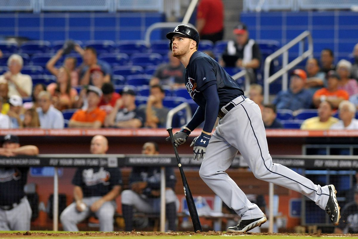 Has Freddie Freeman and his new contract extension knocked Miami's chances of signing Giancarlo Stanton out of the park?