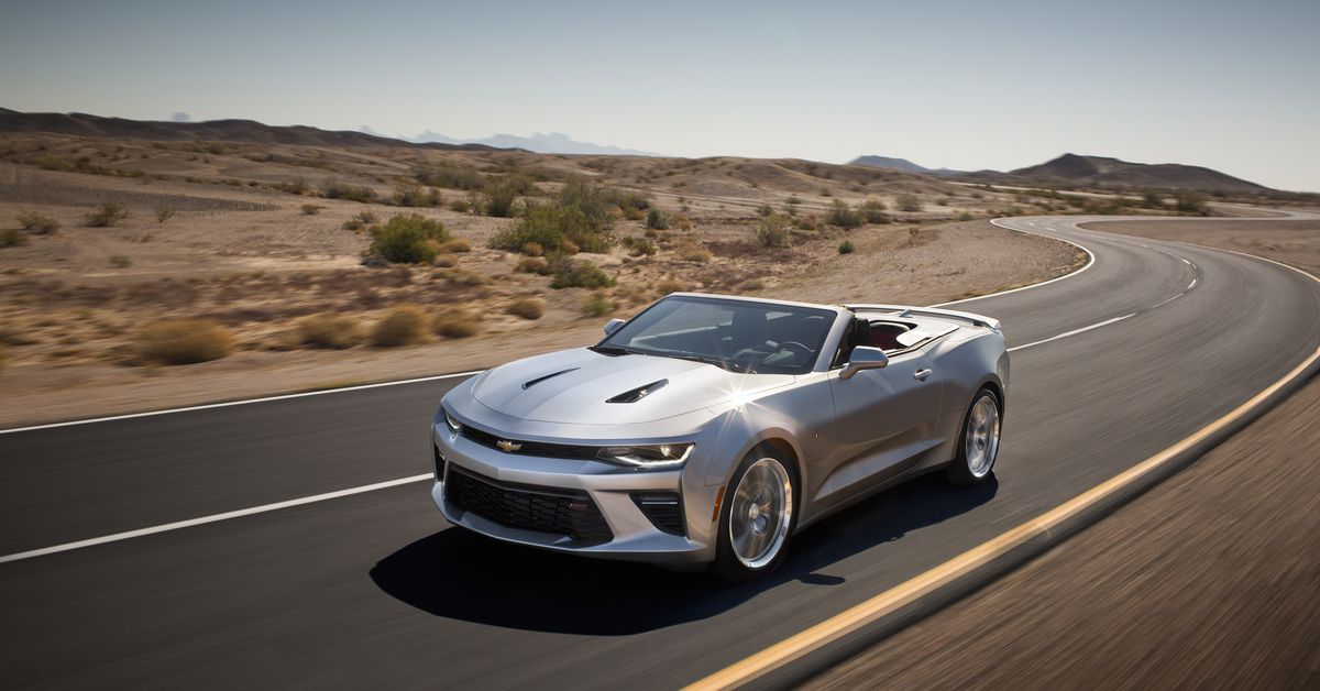 2016 Chevrolet Camaro Coupe Configurations >> Here's the drop-top version of the 2016 Chevy Camaro - The Verge
