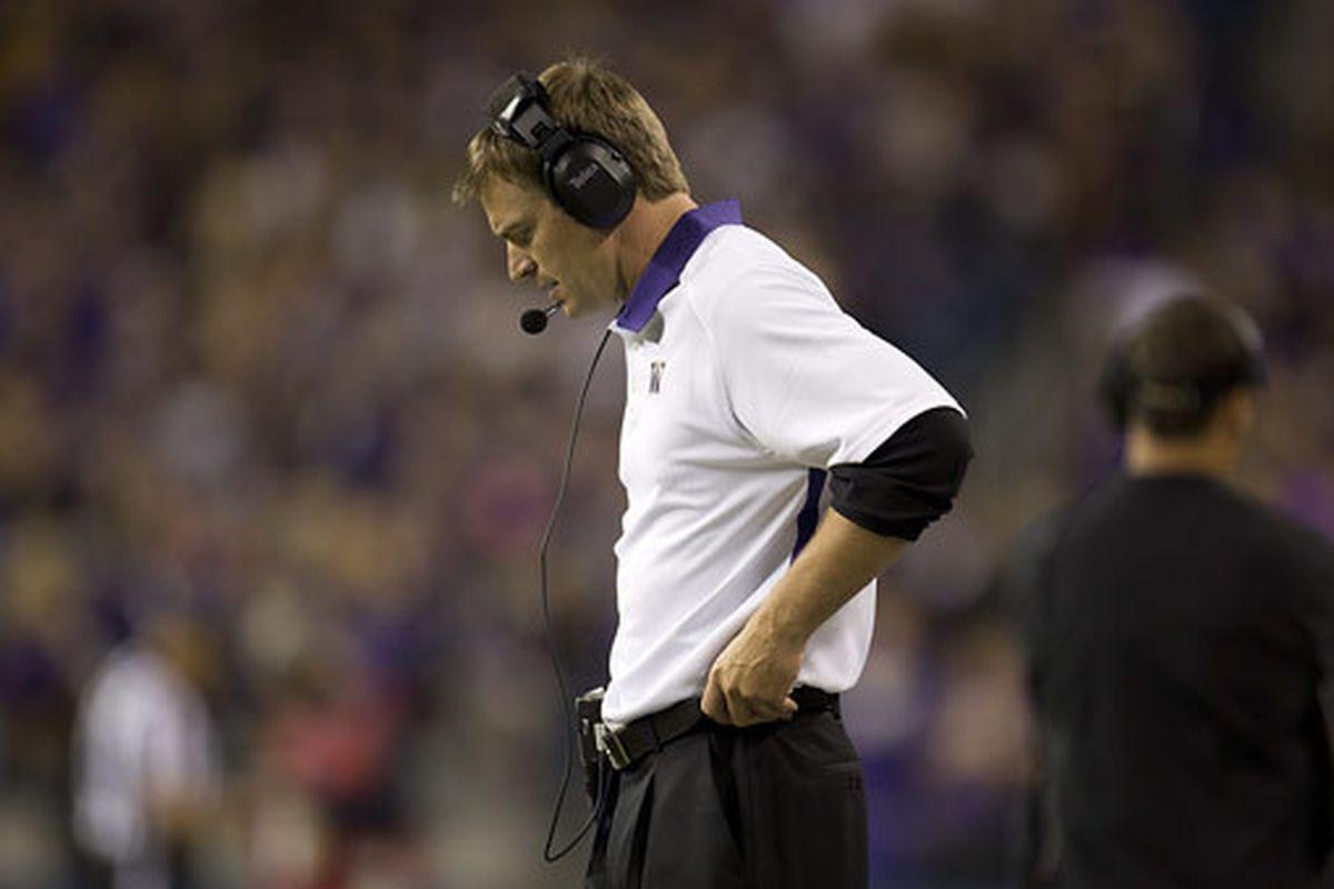 Gotta love a coach who wears pleated black slacks to a game.