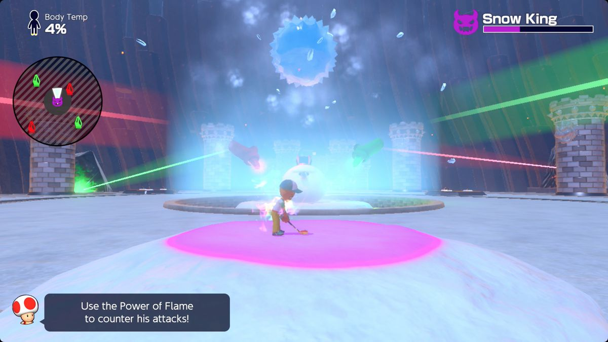 Mario Golf: Super Rush Mount Snow and Snow King boss fight guide