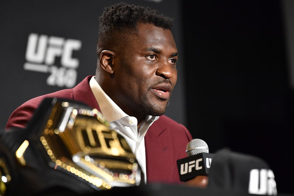 Francis Ngannou at UFC 260