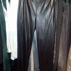 B.P. Studio leather leggings in XS, $147.50 (orig. $295)