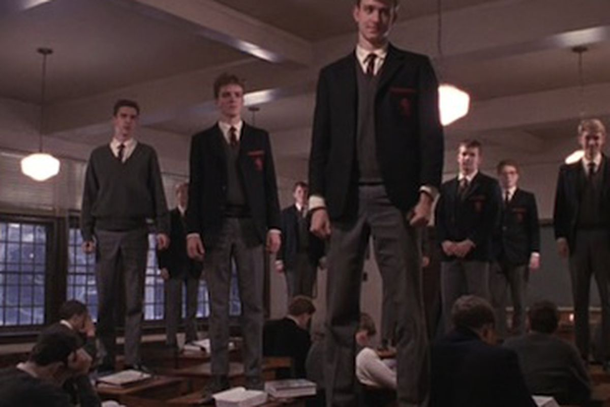 Dead Poets Society was a great prep school movie, look at the natty uniforms!