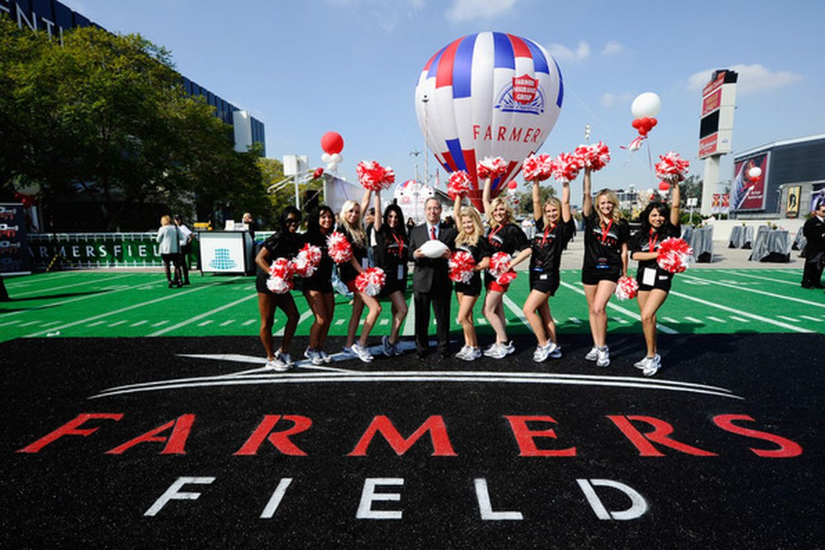 Can anyone ever bring a Football Team to Central Los Angeles?  AEG and Farmersfield thought so.