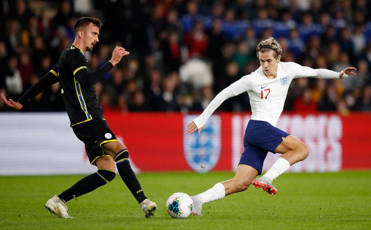 England v Kosovo - 2019 UEFA European Under-21 Championship - Group C - KCOM Stadium