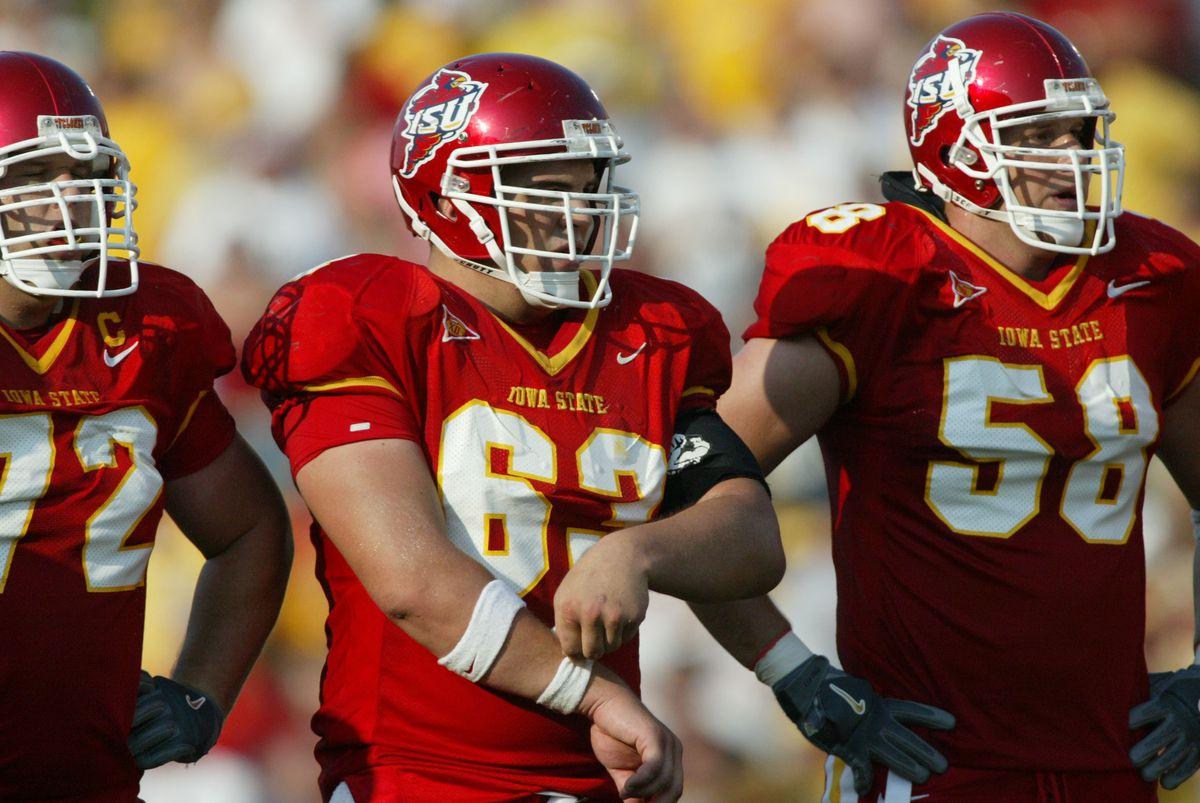 NCCA 2005 Football: Iowa Hawkeyes at Iowa State