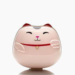 "Kate Spade New York ""Hello Tokyo Cat"" Bag, <a href=""http://www.katespade.com/hello-tokyo-cat/PXRU5196,en_US,pd.html?dwvar_PXRU5196_color=650&cgid=ks-handbags-view-all#start=2&cgid=ks-handbags-view-all"">$298</a>"