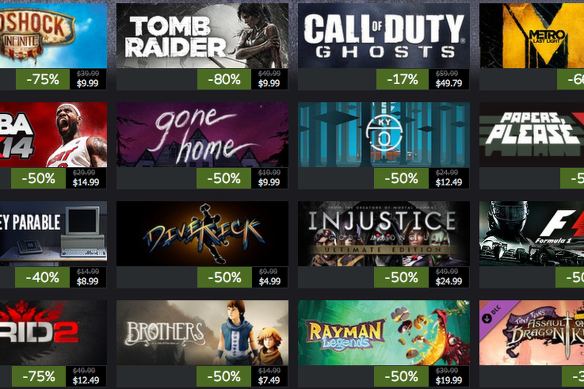 Steam Powered has all the games you want available to download at the lowest prices. Check out the