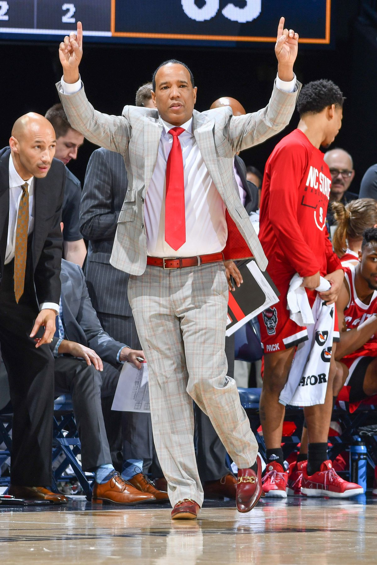NCAA Basketball: N.C. State at Notre Dame