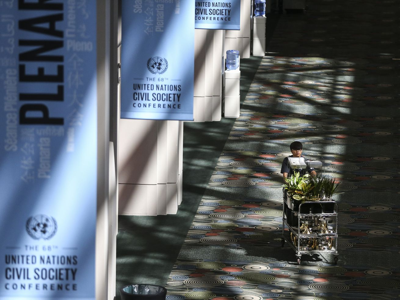 Photos: Salt Lake City set to welcome the world at U.N. conference