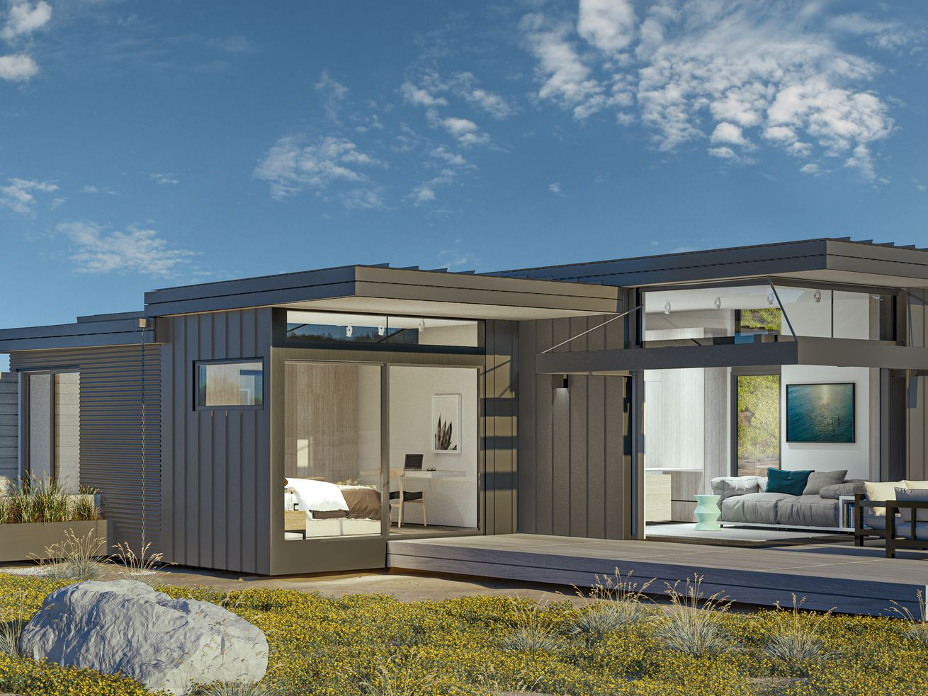 New modular prefab homes come in a wide range of sizes