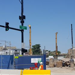 Ricketts family hotel project site -