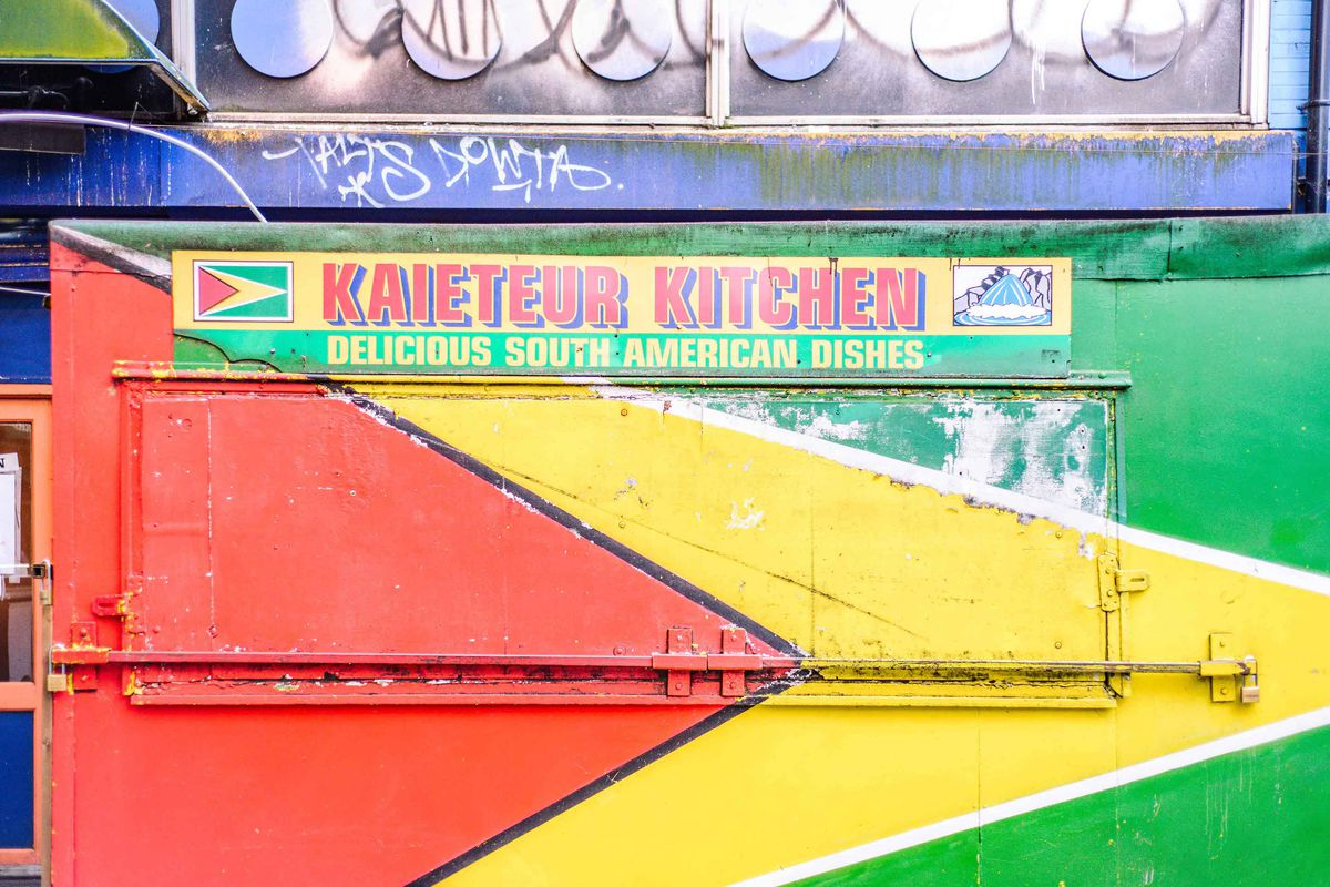 Elephant and Castle shopping centre's demolition will affect Latinx community traders, like Kaieteur Kitchen