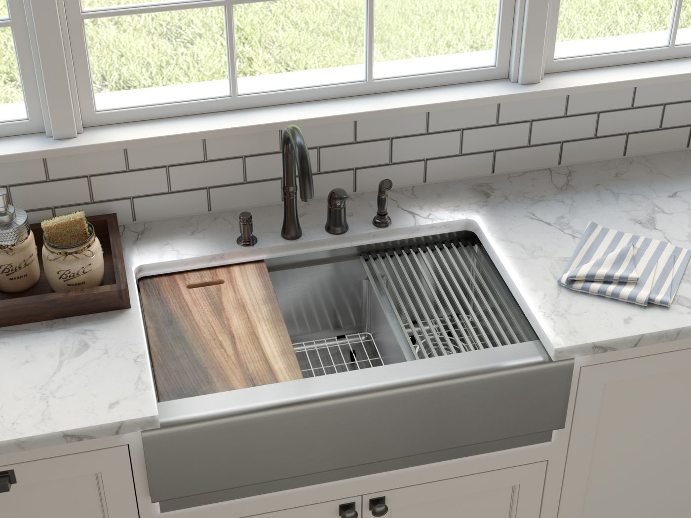 Stainless Steel Sinks Choosing The Best One For You This Old House