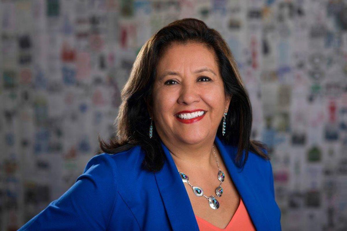 Elsa Holguín, the new president and CEO of the Denver Preschool Program.