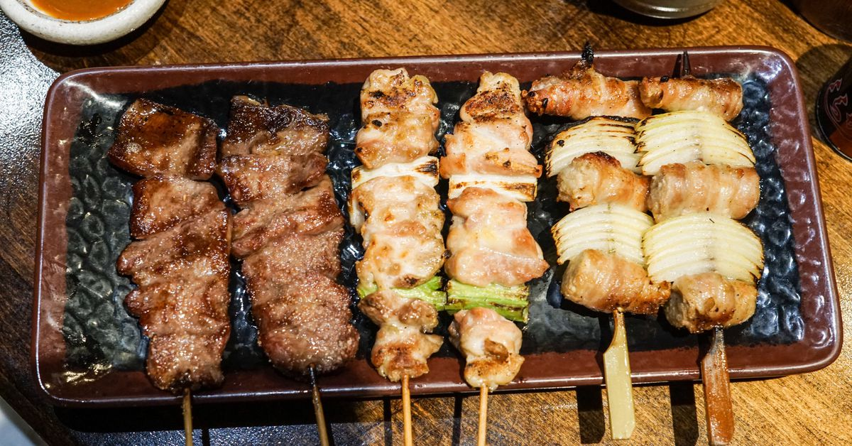 Meat On A Stick Always Wins At Las Best Yakitori Spots