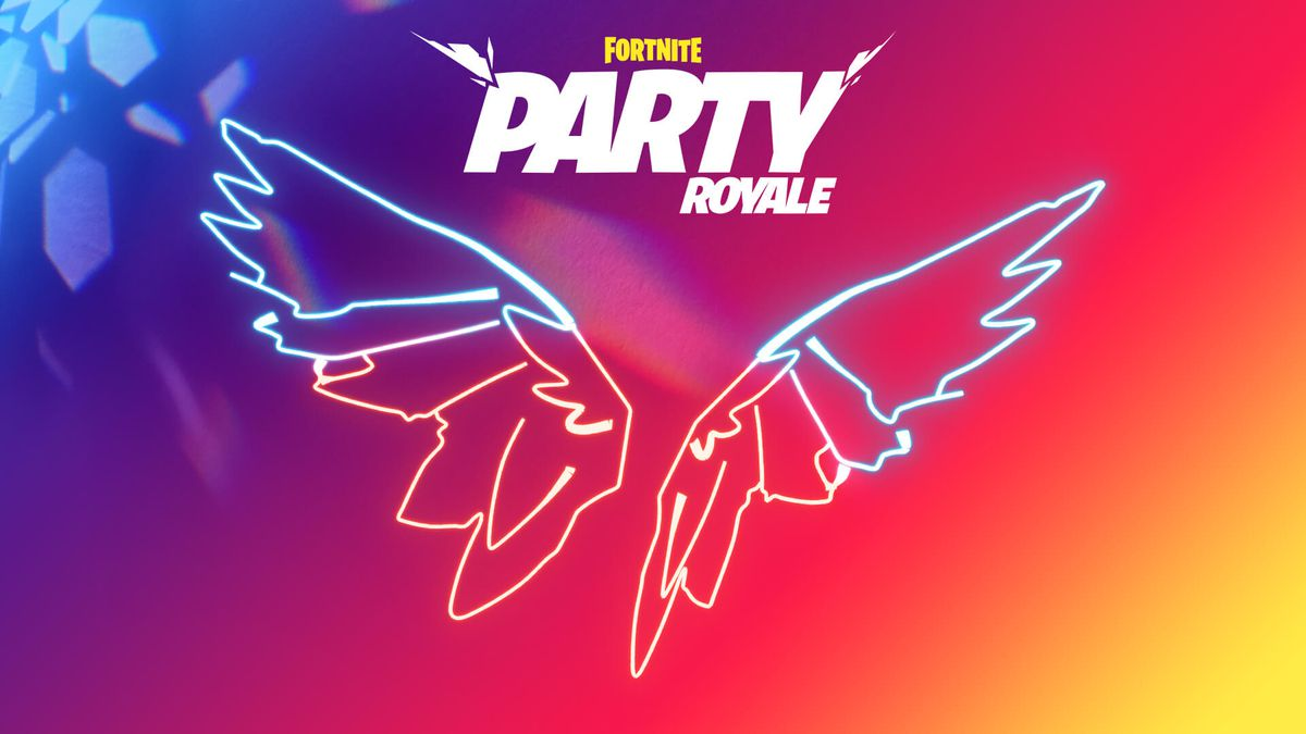 Fortnite's Party Royale Premiere Neon Wings Back Bling