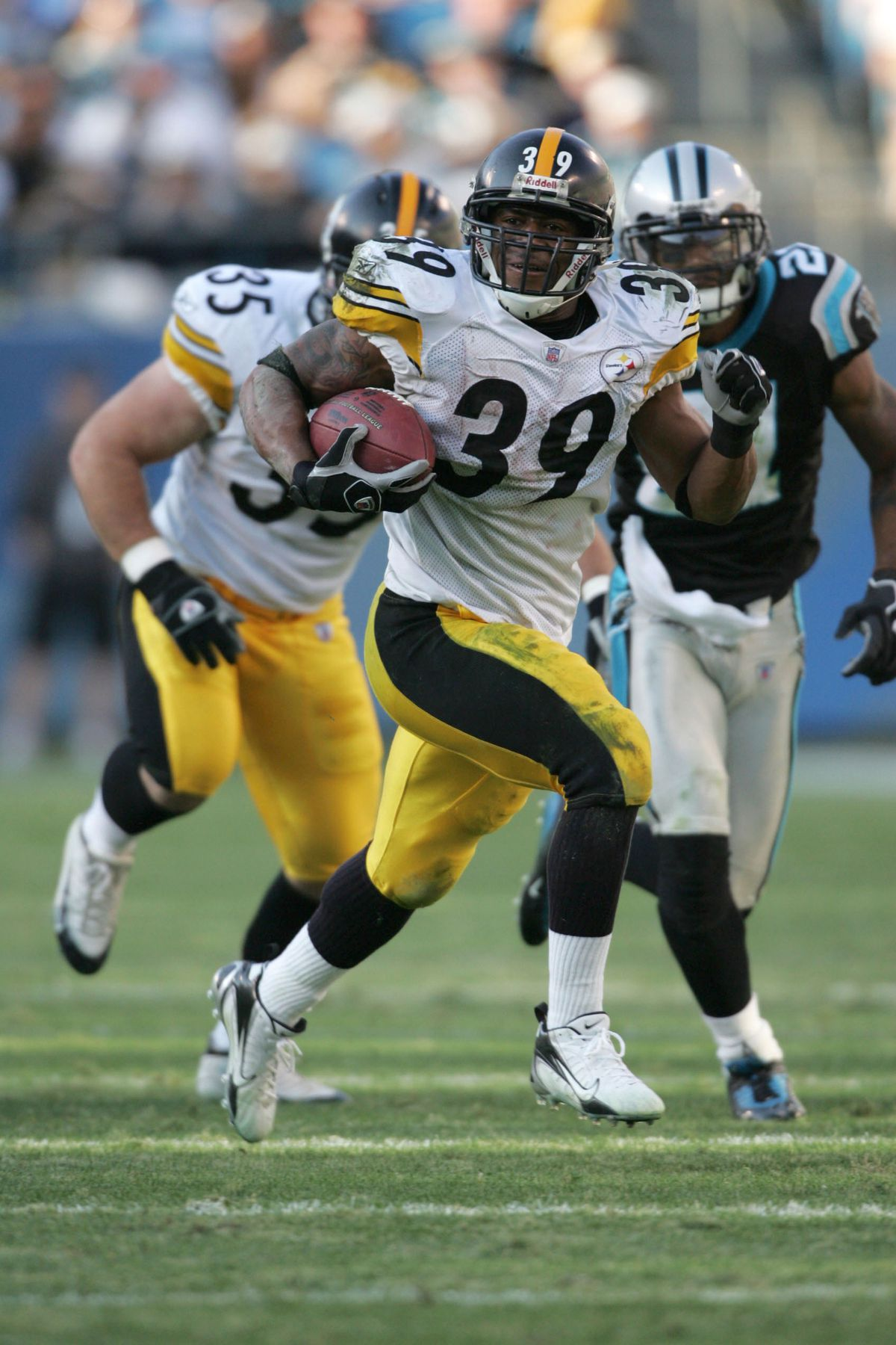 NFL: Steelers Beat Panthers 37-3
