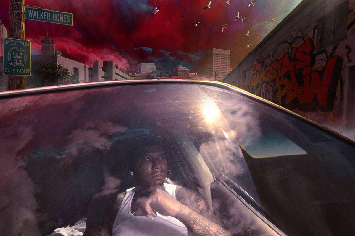 Moneybagg Yo's 'A GANGSTA'S PAIN' artwork