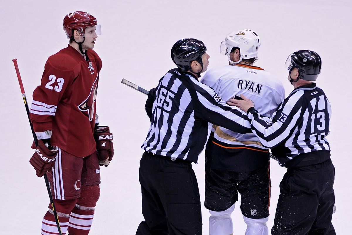 Yup, I'm sure it won't get any unglier playing the Ducks two more games in a row....