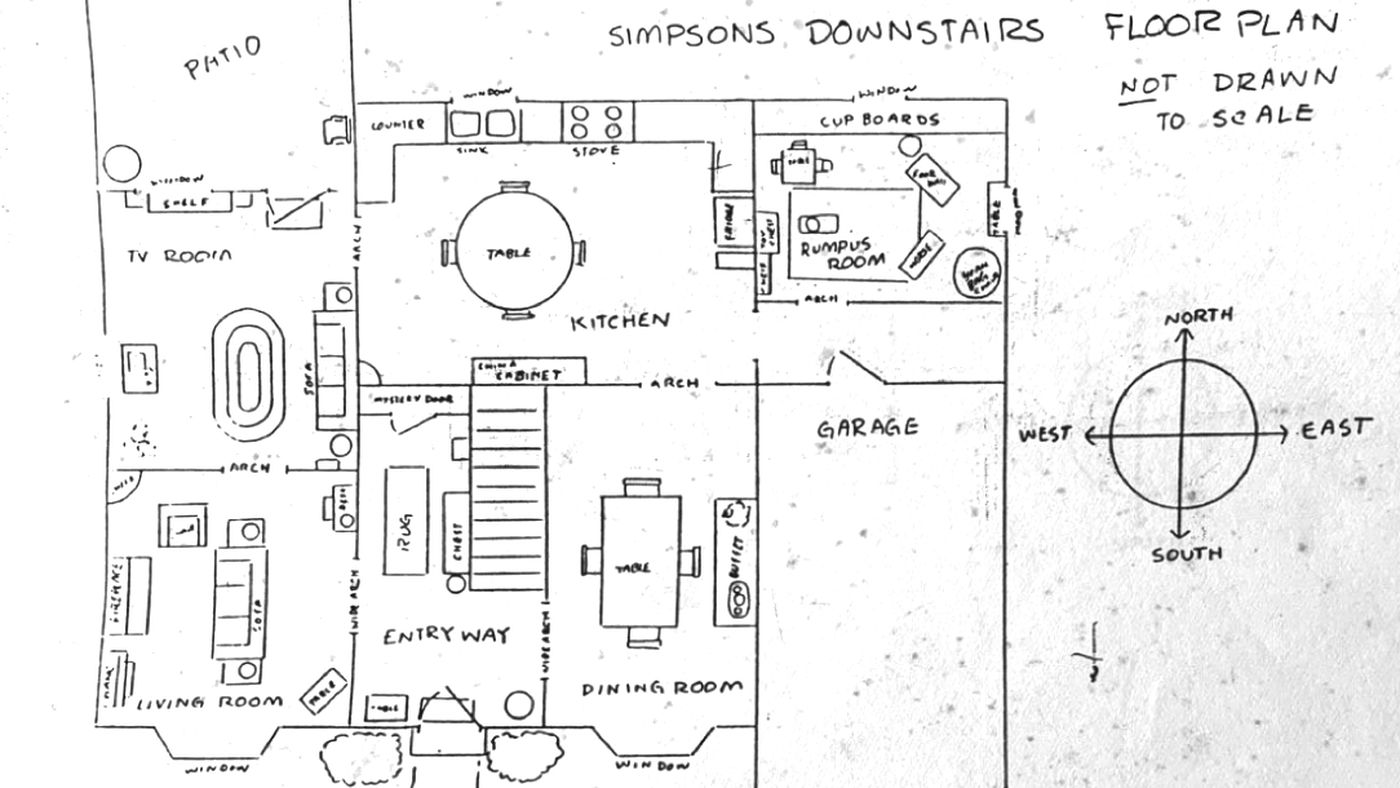 The Simpsons Official House Floor Plan Released By Former Writer Deseret News
