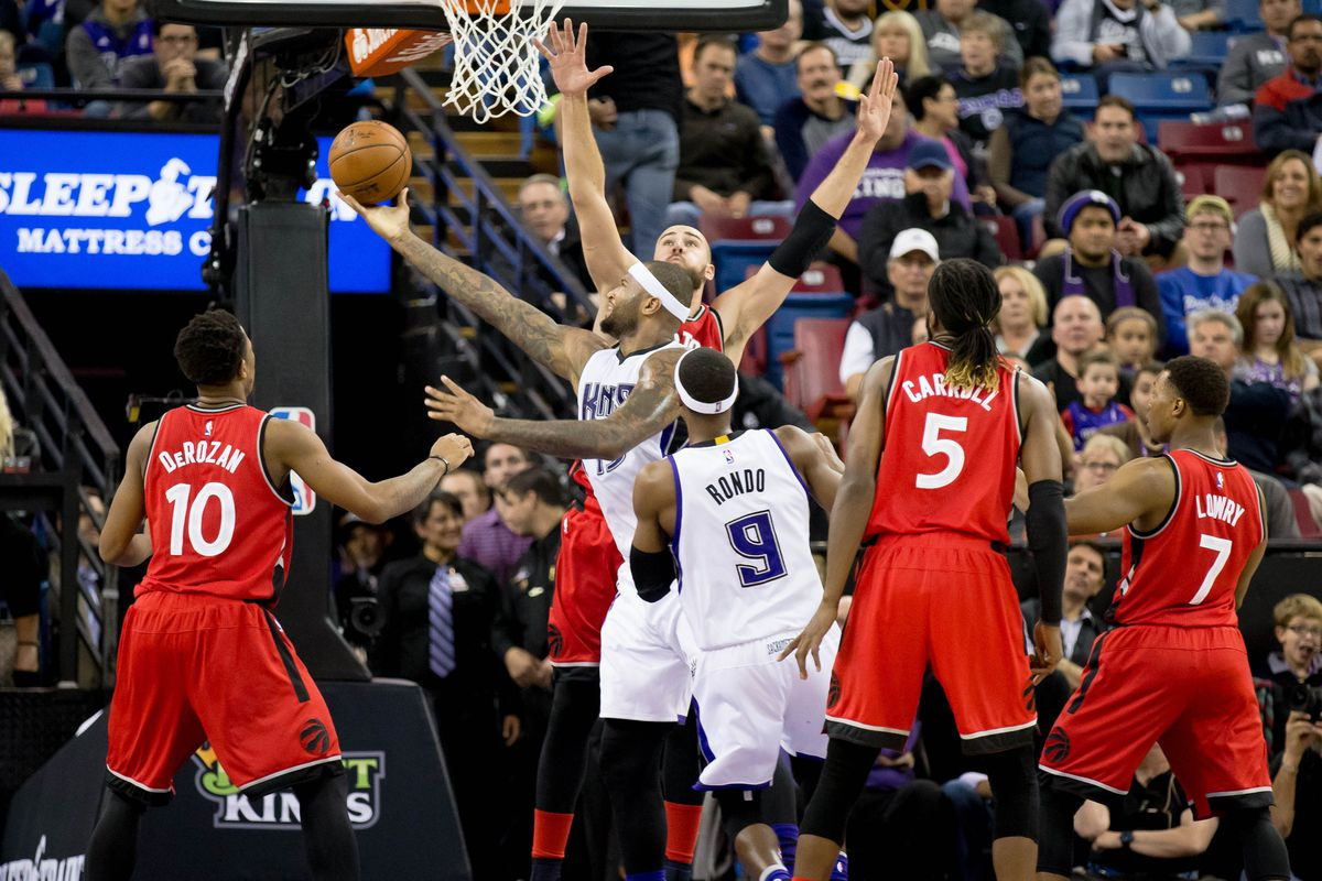 DeMarcus Cousins led the Kings over the Raptors on Sunday