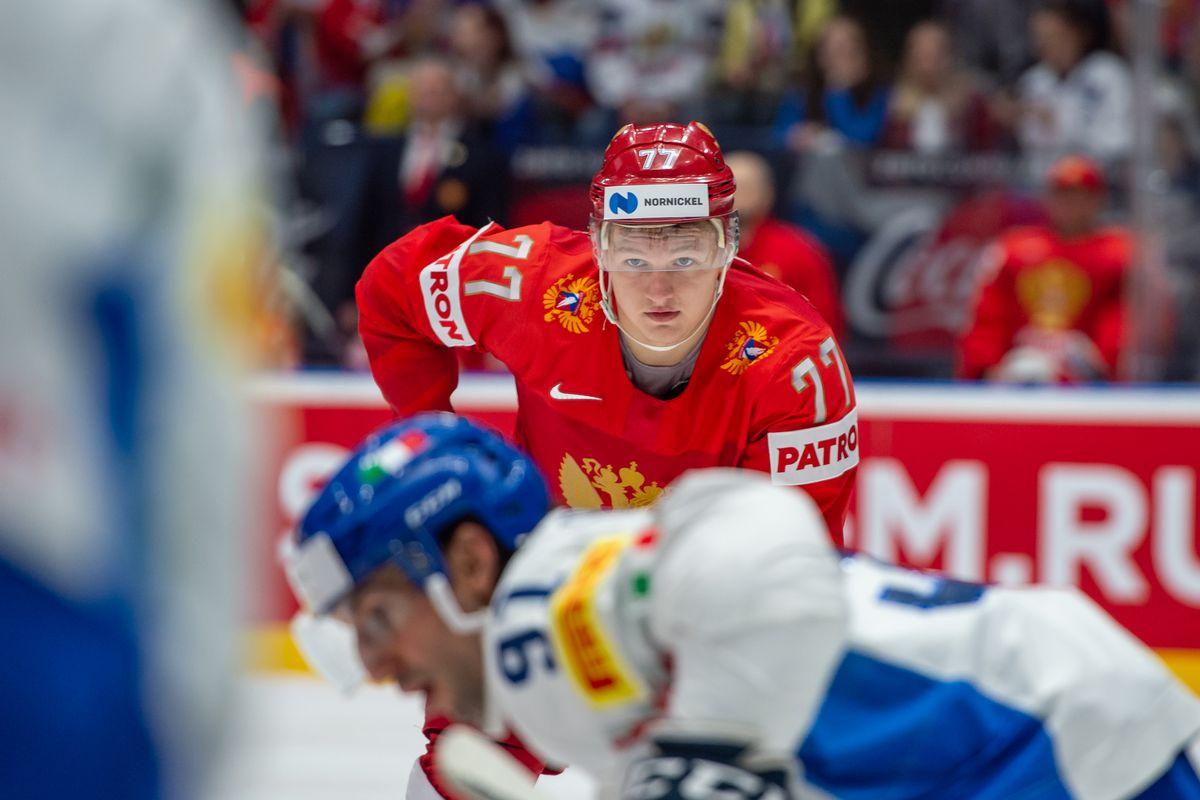Russia v Italy: Group B - 2019 IIHF Ice Hockey World Championship Slovakia