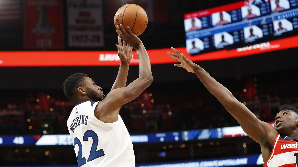 NBA: Minnesota Timberwolves at Washington Wizards
