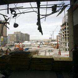 City Creek Construction March 11, 2008.
