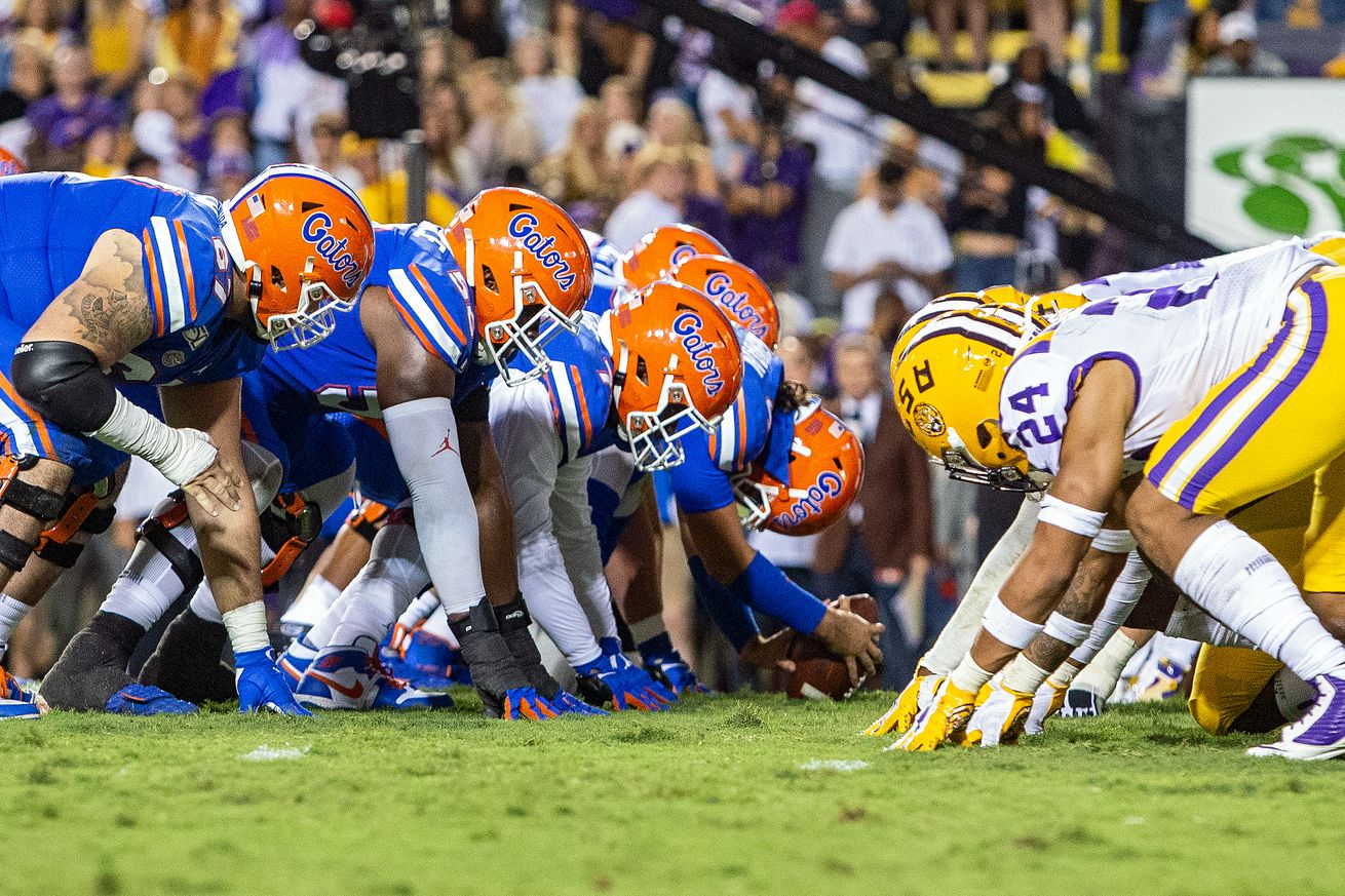 COLLEGE FOOTBALL: OCT 12 Florida at LSU