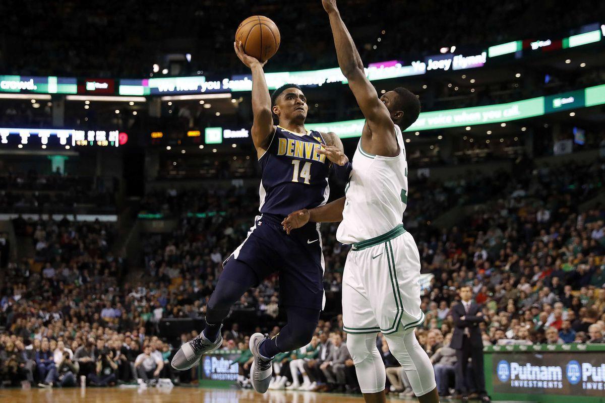 NBA: Denver Nuggets at Boston Celtics