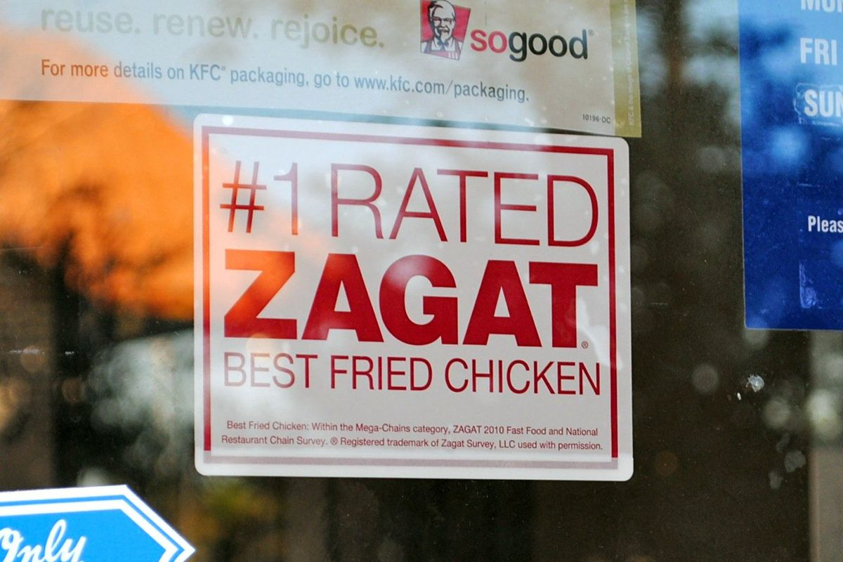 What Is Zagat and How Do Zagat Reviews Work? - Eater Zagat Map on
