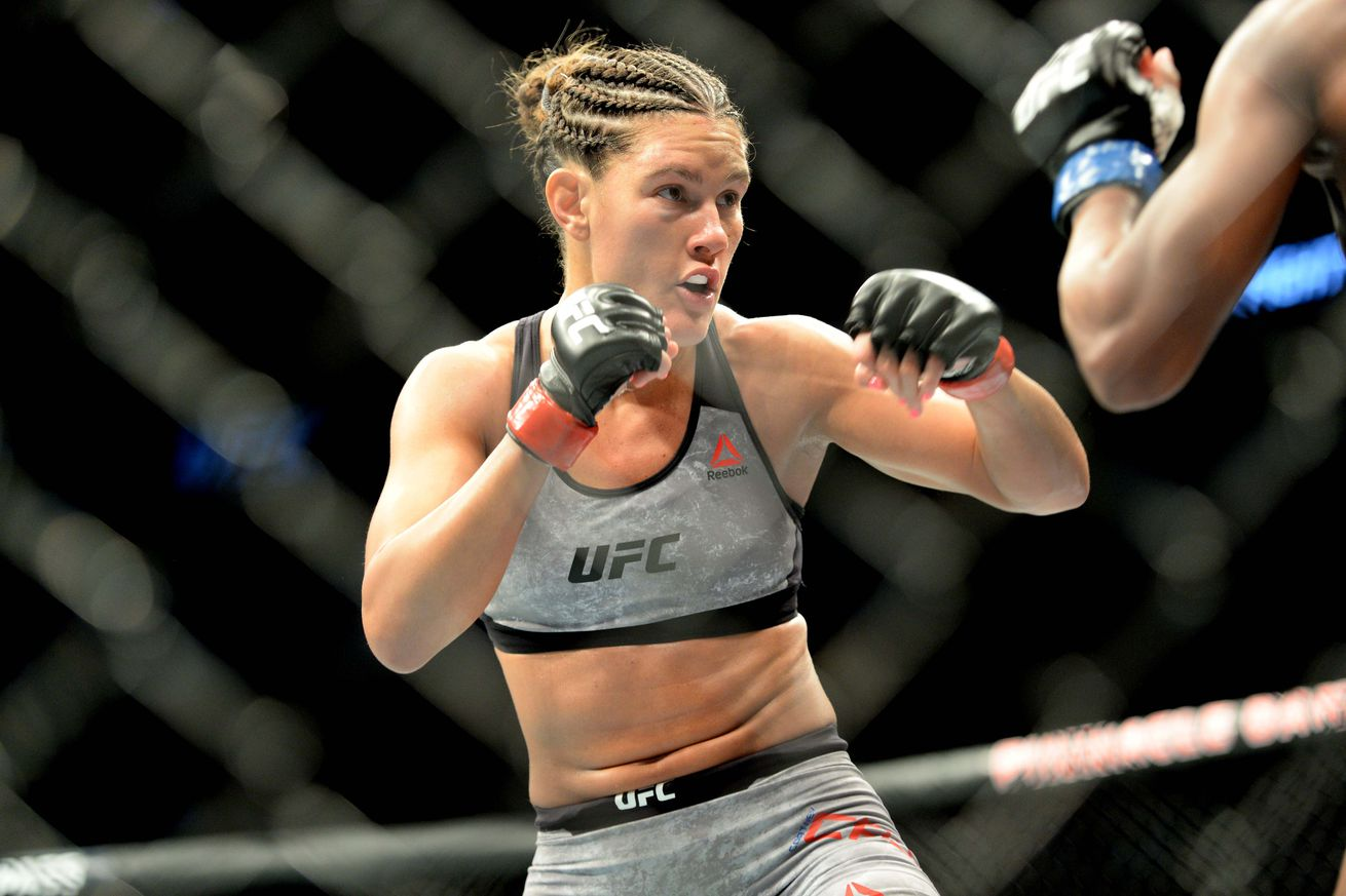 Cortney Casey defeated Angela Hill at UFC Lincoln.