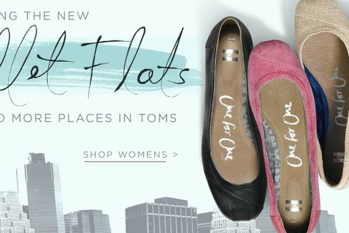 In News That Will Make Your Feet Happy, TOMS $79 Ballet