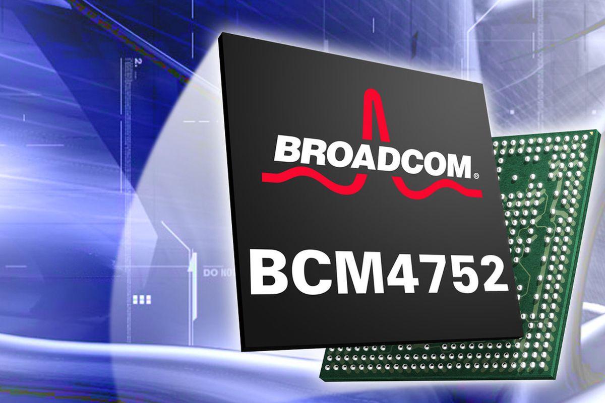 Broadcom GPS BCM4752 Chip