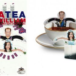 Kate Middleton and Prince William Teabags