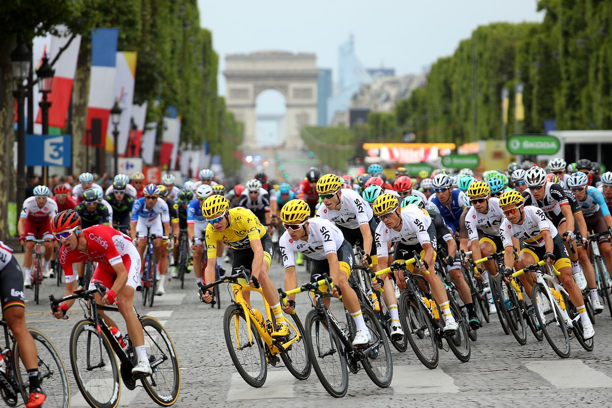 tour de france 2018 schedule tv live stream options map and route. Black Bedroom Furniture Sets. Home Design Ideas