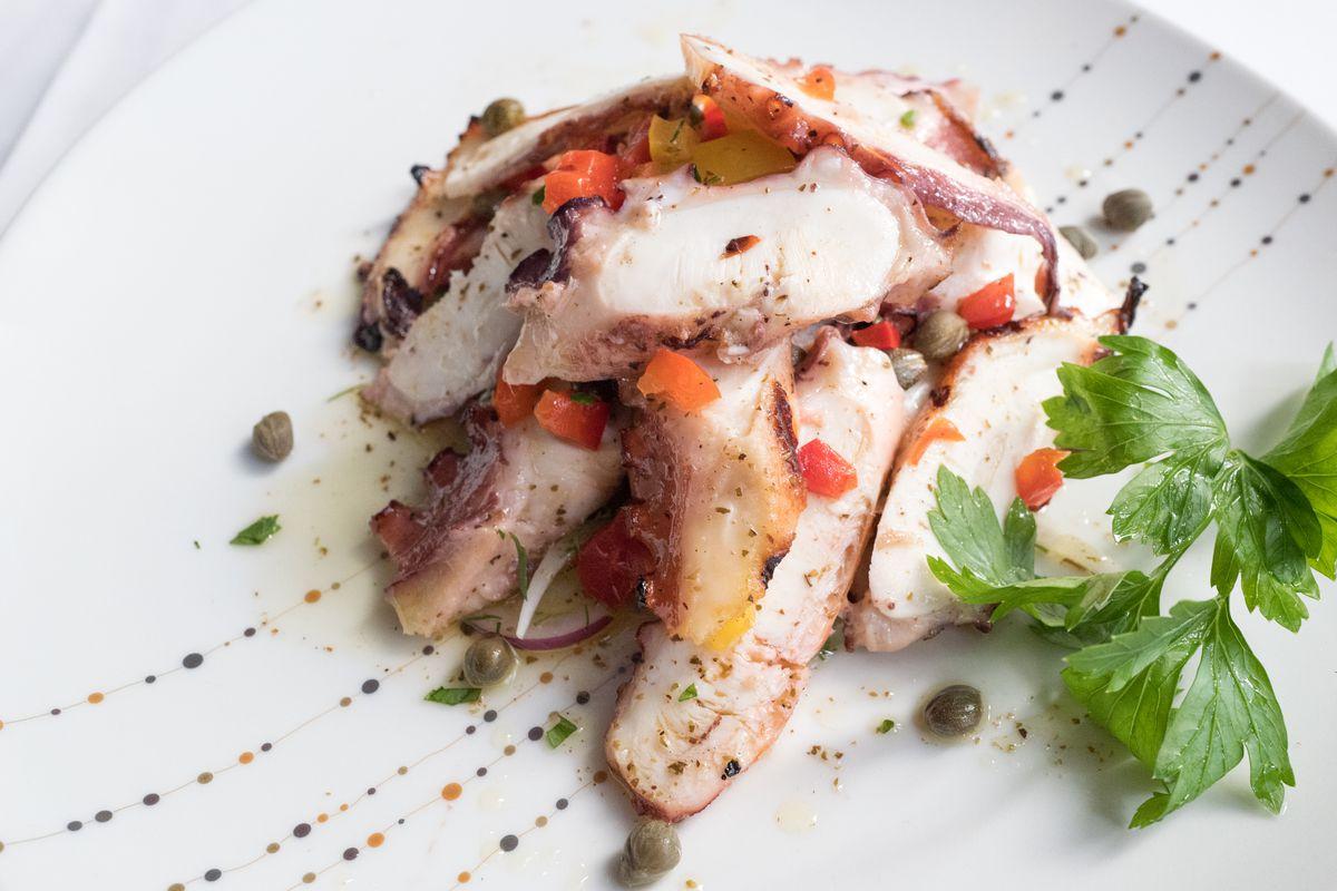 A dish on the menu at Avra Madison