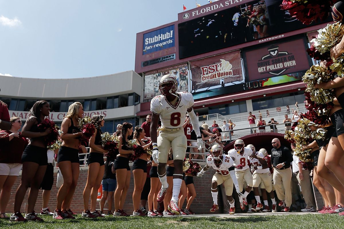 Florida State begins its title defense tonight against Oklahoma State.