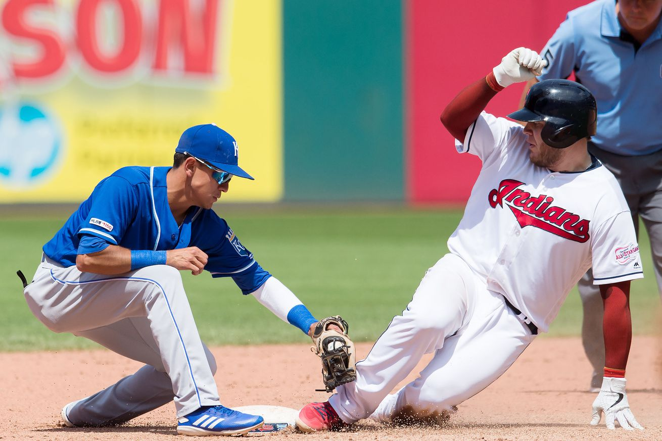 Royals whiff on comeback in 5-3 loss to Indians