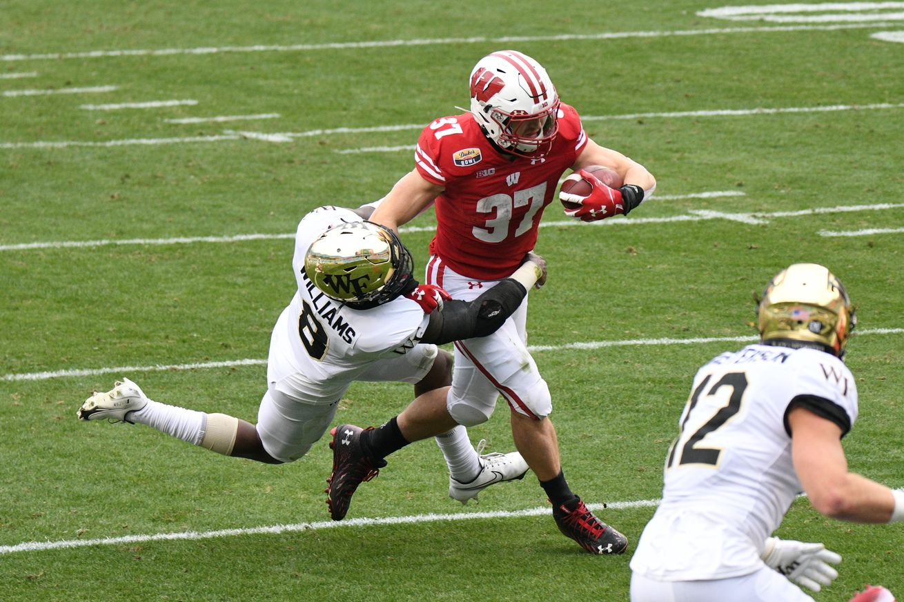COLLEGE FOOTBALL: DEC 30 Duke's Mayo Bowl - Wake Forest v Wisconsin